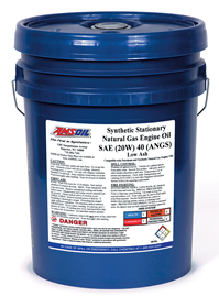 ANGS Synthetic Stationary Natural Gas Powered Engine Oil