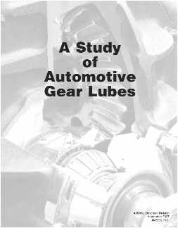 Amsoil Gear Lube Drain Interval Guide